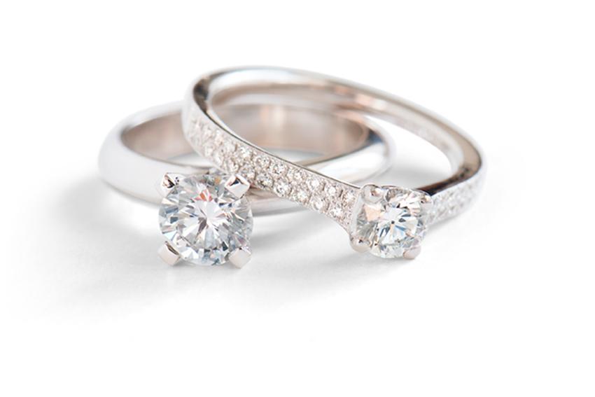 platina ring förlovning