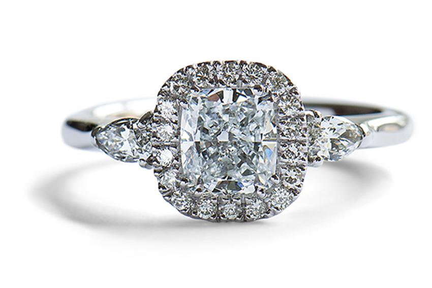 halo ring förlovning